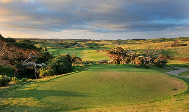National Golf Club Moonah course - photo by Gary Lisbon