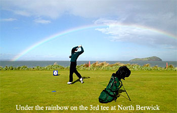3rd tee at North Berwick Golf Club
