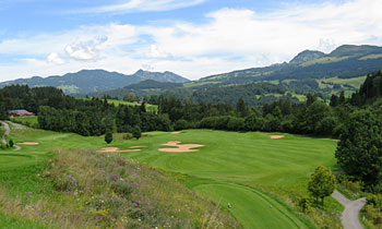 Oberallgäu Golf Course 10th hole - photo by Ulrich