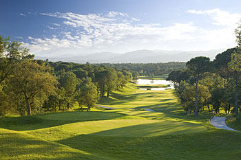 PGA Catalunya Stadium 13th hole