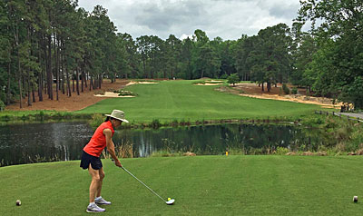 Pine Needles 4th hole