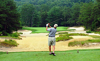 The easy 3rd at Pine Valley!