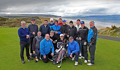 Golf Media at Portstewart - photo courtesy of Tourism Northern Ireland