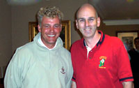 Darren Clarke & Mel Chapman at Queenwood