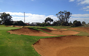 Royal Adelaide - new 17th hole