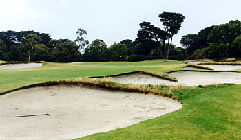 Royal Melbourne East course