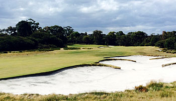 Royal Melbourne West course 12th hole