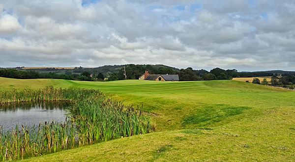 Ramside Hall Golf Cathedral course 3rd hole