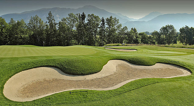 King's course at Royal Bled Golf Club