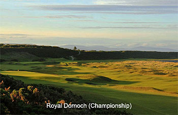 Royal Dornoch Golf Club - Championship course