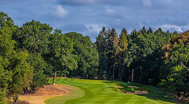 Royal Norwich Golf Club 3rd hole at Weston Park