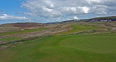 New Dunluce holes from the 13th green
