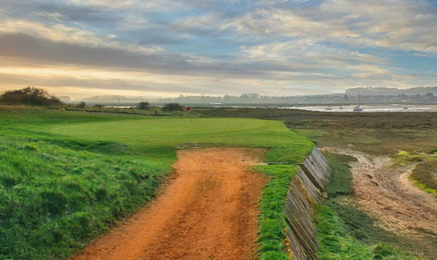 Royal West Norfolk Golf Club 9th hole - image courtesy of Kevin Murray