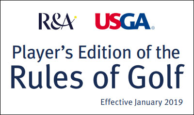Rules of Golf 2019