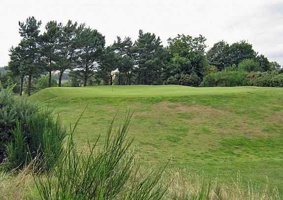 Scotscraig 4th hole