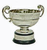 Senior Amateur golf trophy