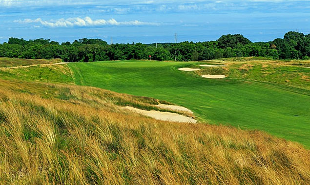 Shinnecock Hills 10th hole