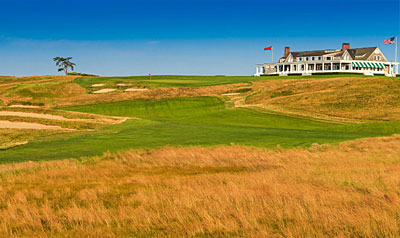 Shinnecock Hills 9th hole