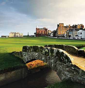 St Andrews Old course - photo by Kevin Murray