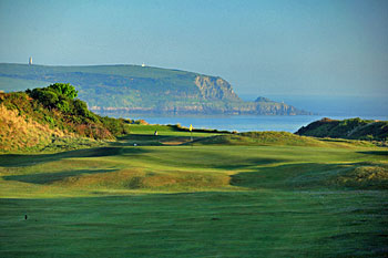 St Enodoc Golf Club - 1st hole