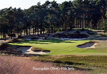 Sunnigdale New course 10th hole