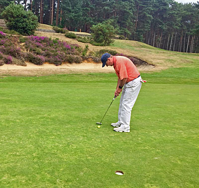Sunningdale New course 10th hole