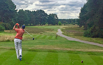 Sunningdale New course -3rd hole
