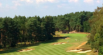 Sunningdale Old course 10th hole