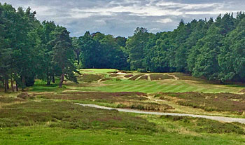 Sunningdale Old course - 6th hole