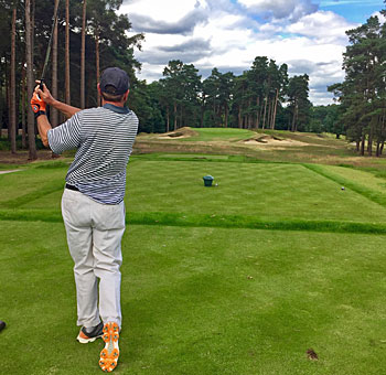 Swinley Forest Golf Club - 17th hole