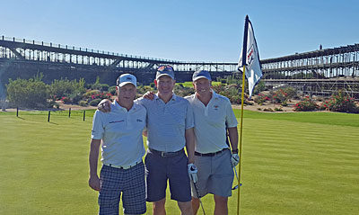 TPC Scottsdale group shot Brian on the left