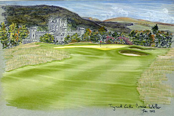 Taymouth Castle - proposed 8th green
