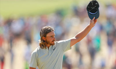 Tommy Fleetwood 2018 US Open runner-up