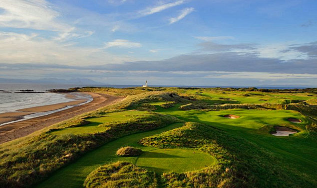 Trump Turnberry Ailsa course