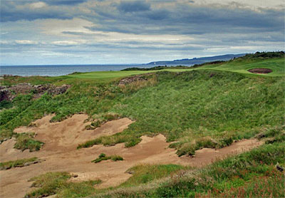 King Robert the Bruce at Trump Turnberry
