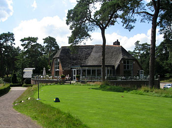 Utrecht de Pan - Clubhouse and 1st tee