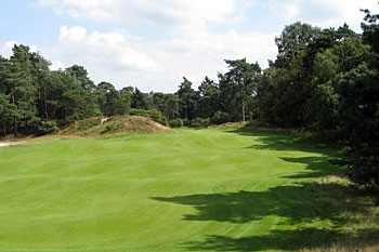 Utrecht de Pan - approach to the 6th green