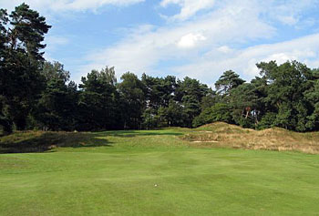 Utrecht de Pan - 17th hole approach