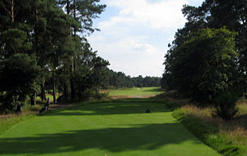 Utrecht de Pan - Drive on the 18th hole