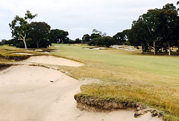 Victoria Golf Club 11th hole