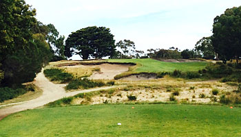 Victoria Golf Club 14th hole