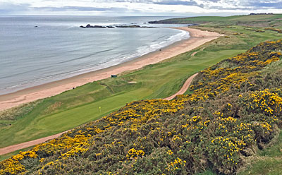 Cruden Bay - view from the 9th tee