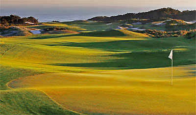 West Cliffs golf course Portugal