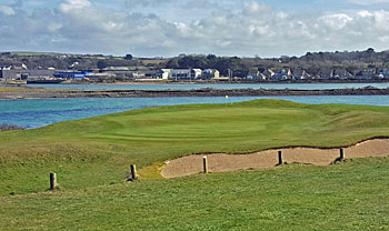 West Cornwall Golf Club 6th hole