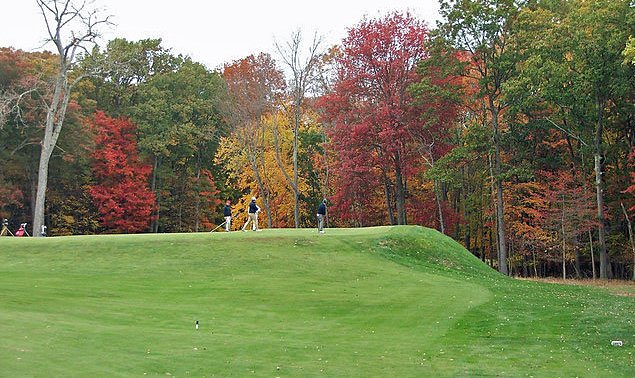 Yale golf course 14th hole