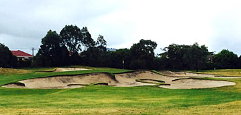Yarra Yarra Golf Club 11th hole