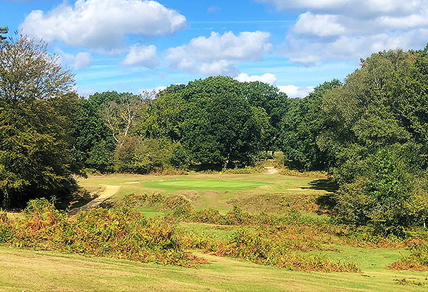 Bramshaw (Forest) Golf Course - 12th tee