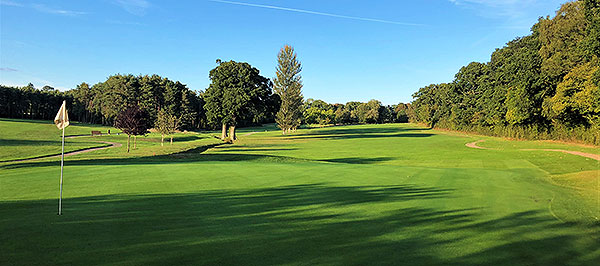 Bramshaw (Manor) Golf Course - 17th green