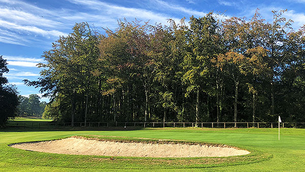 Bramshaw (Manor) Golf Course - 5th green