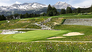 Crans-sur-Sierre (Severiano Ballesteros) Golf Course - Photo by reviewer